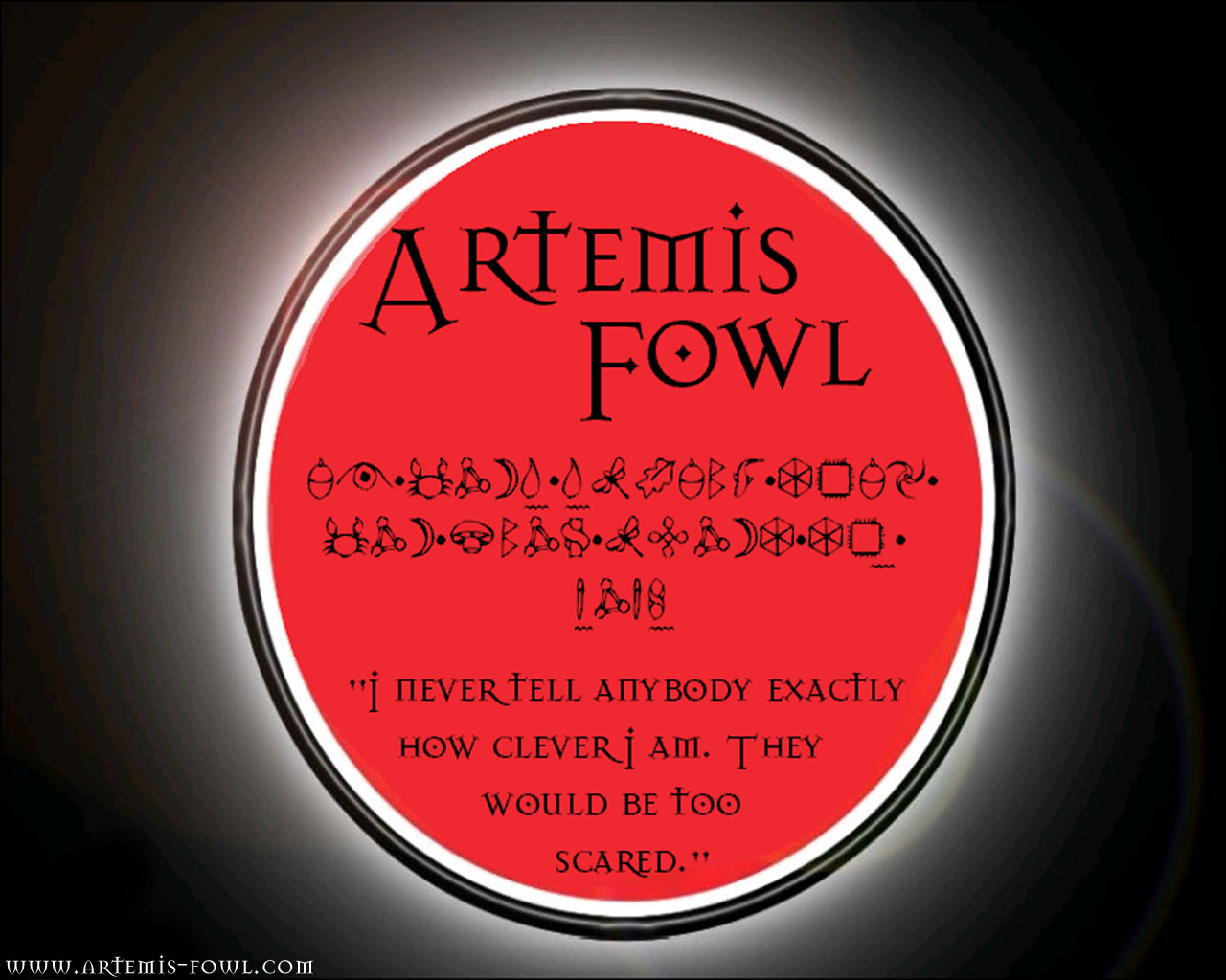 fanmade artemis fowl wallpapers - photo #28