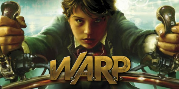 Eoin Colfer on his new series WARP