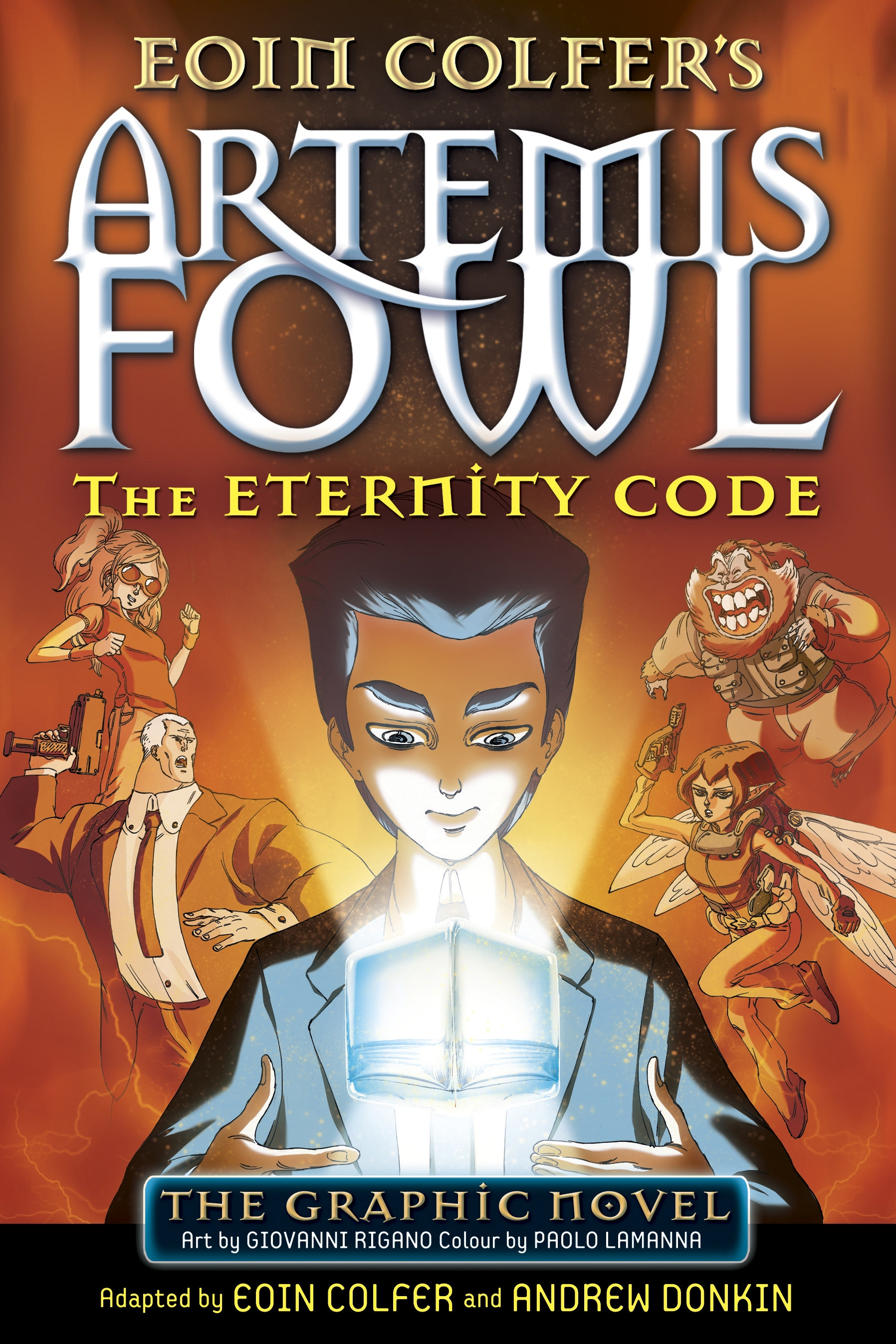 Af The Eternity Code Graphic Novel Artemis Fowl Confidential