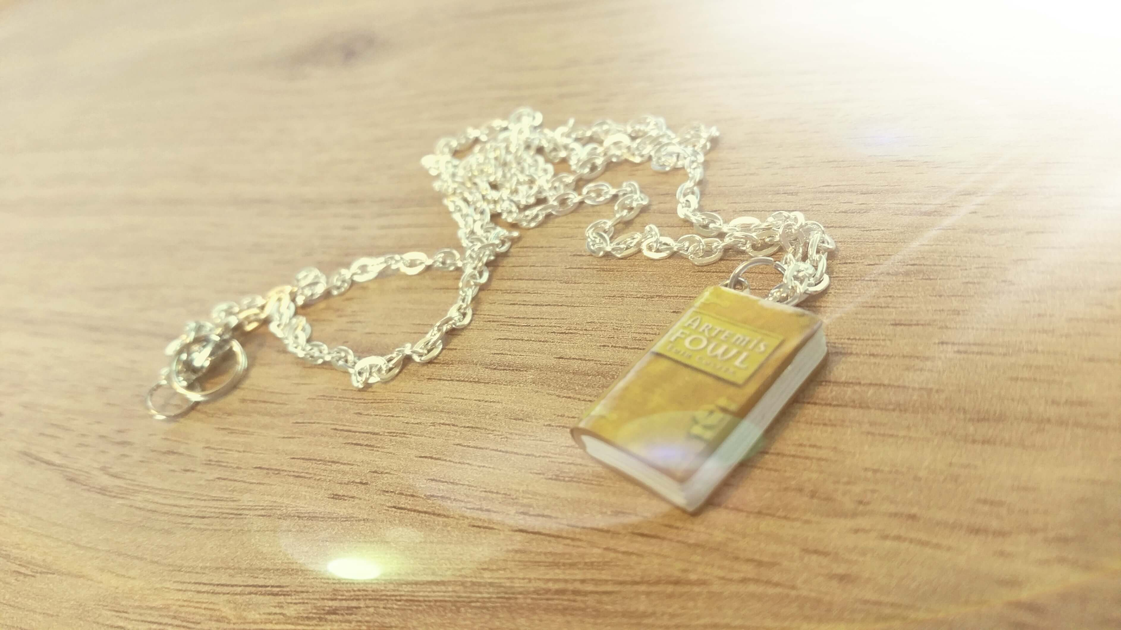 Artemis Fowl Mini Book Necklace Giveaway!