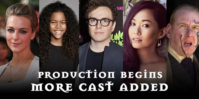 Artemis Fowl Movie Production Begins More Cast Added Artemis