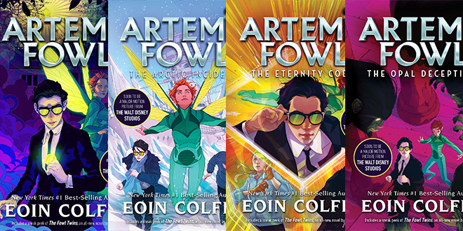 Artemis Fowl Relaunched With New Book Covers Artemis Fowl Confidential