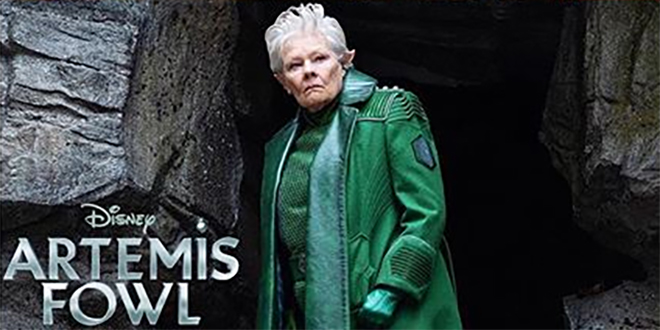 Another look at Judi Dench as Commander Root | Artemis Fowl Confidential