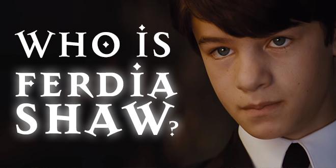 Who is Ferdia Shaw? | Artemis Fowl Confidential