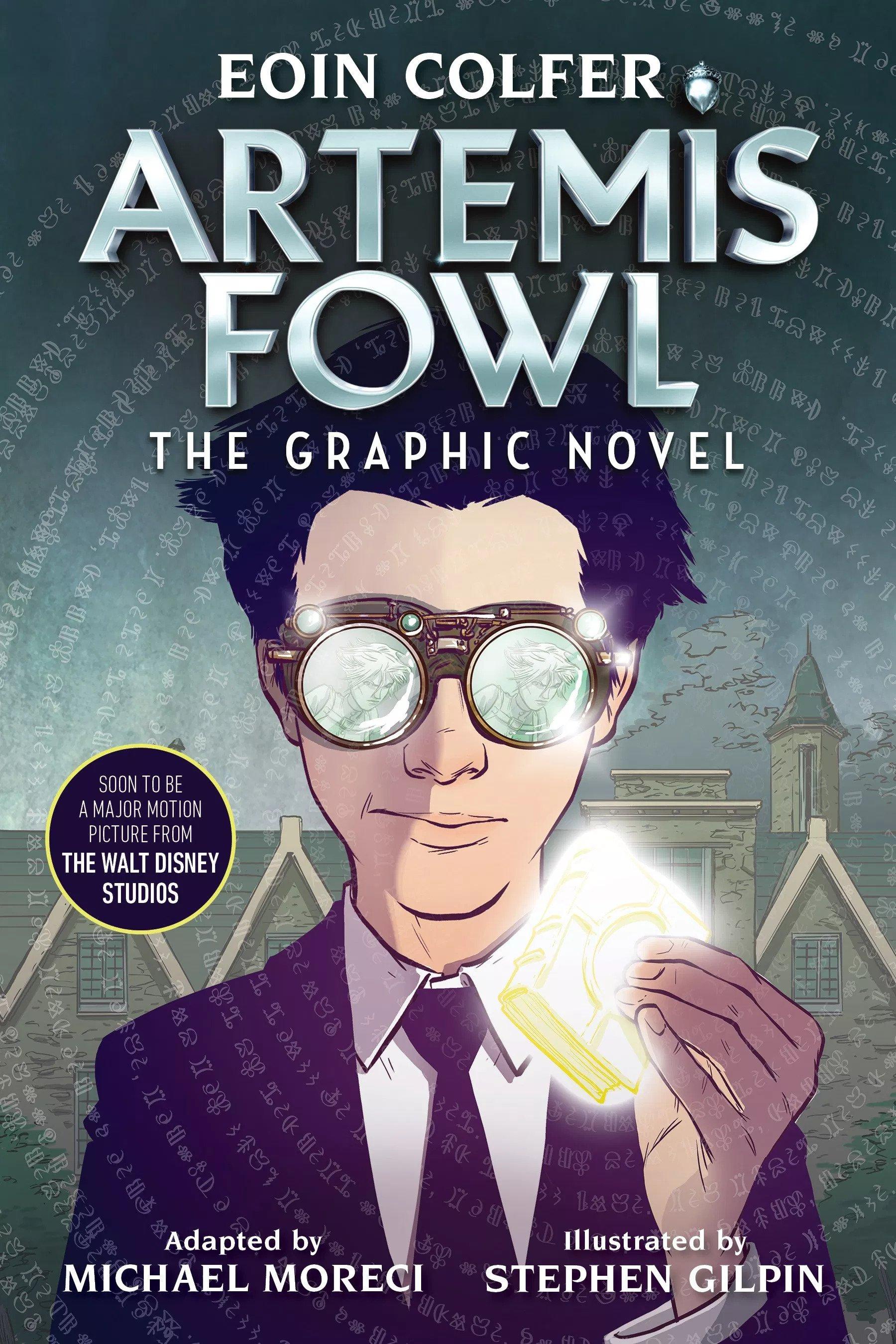 Artemis Fowl 2019 Graphic Novel - Artemis Fowl Confidential