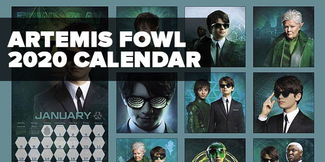 Artemis Fowl 2020 Calendar First Look At Holly Short
